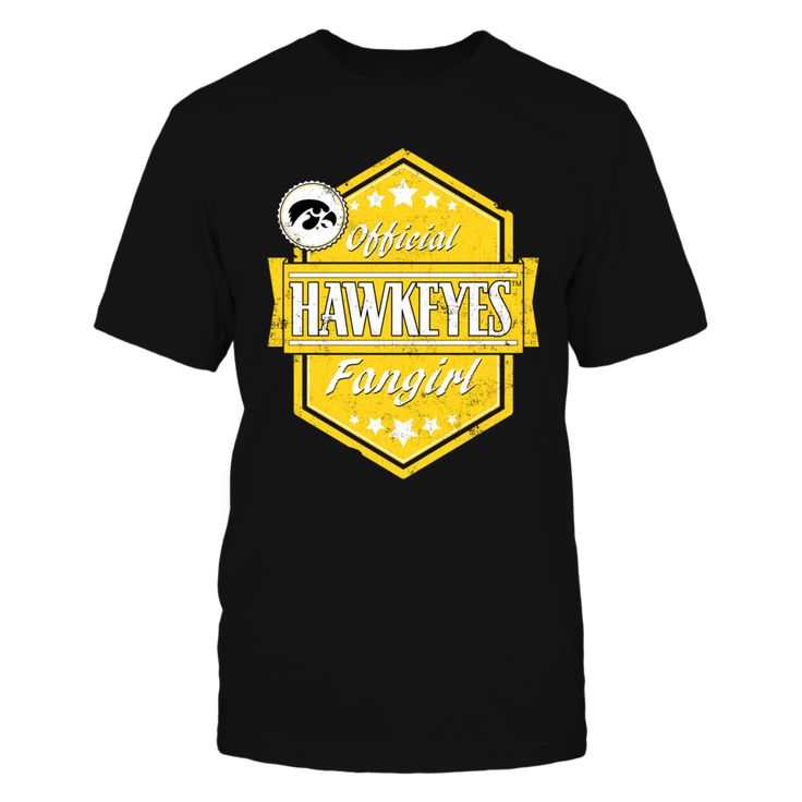 Official Hawkeyes Fangirl - University of Iowa T-Shirt, Officially Licensed Exclusive Design Join the University of Iowa fan elite with this fun Official Hawkeyes Fangirl design. Makes a great gift for super fans of the Iowa Hawkeyes! Not Available in Stores!  The Iowa Hawkeyes Collection, OFFICIAL MERCHANDISE  Available Products:          Gildan Unisex T-Shirt - $25.95 Gildan Women's T-Shirt - $27.95 District Men's Premium T-Shirt - $27.95 District Women's Premium T-Shirt - $29.95 Gildan…