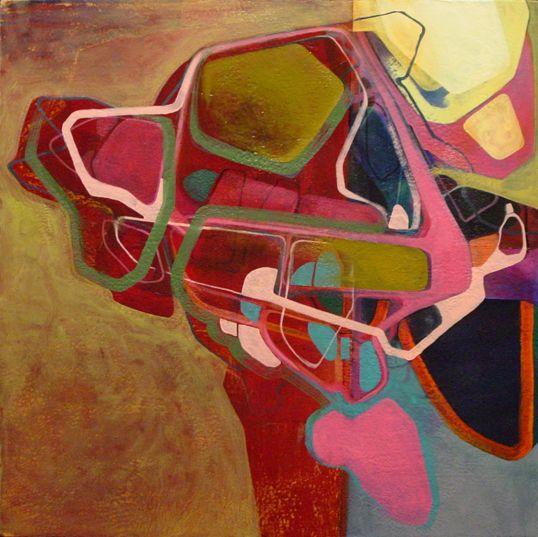 Nick Lamia Artist Injector - 24x24 - Oil on canvas -