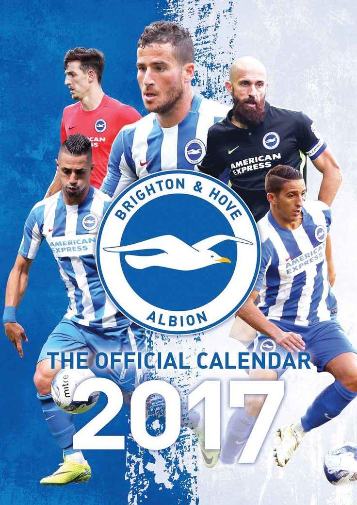 Brighton and Hove Albion FC A3 Calendar 2017