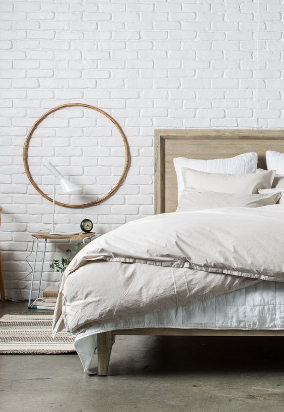 The Essential Quilt and Pillowcases in White with the Percale Venice Set and…