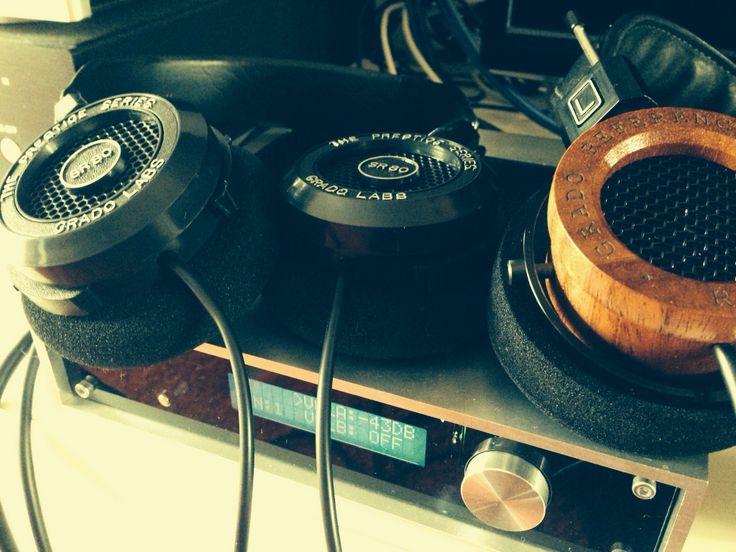 M2tech Marley y auriculares Grado  www.sound-pixel.com