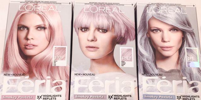 Arriva dagli USA una novità per i nostri capelli: le colorazioni L'Orèal Feria Smokey Pastels per capelli, per essere alla moda come in passerella!