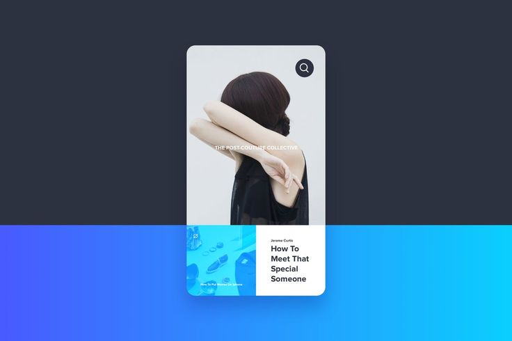 Blog Post Screen Template by cerpow on Envato Elements
