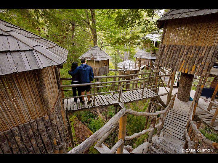 Futaleufu, Chile. (Earthriver treehouse camp)