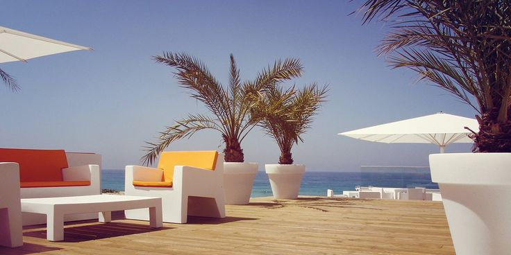Bar lounge - Le Grand Hôtel de la Plage - 4 étoiles - Biscarrosse #hotel #plage #grandhotel #4star #biscarrosse #france #design #terrasse #terrace
