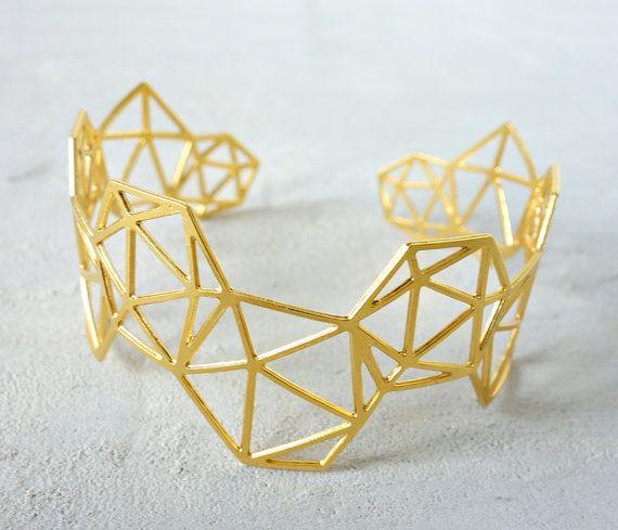 Geodesic Bracelet, Architectural jewelry, urban jewelry