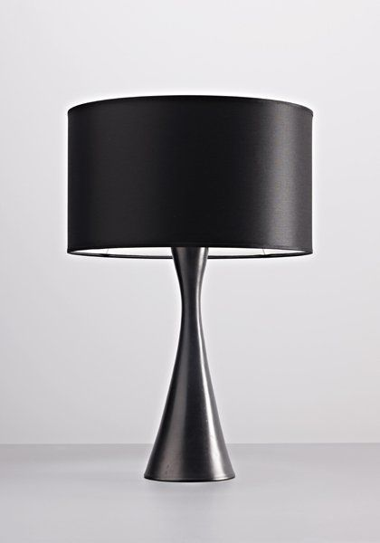 GEORGES JOUVE Table Lamp, C. Underside Incised With Artistu0027s Monogram And  U0027Jouveu0027.