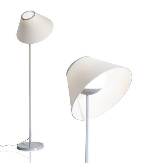Lampe:Cappuccina Gulvlampe Designer Inga Sempe Leverandør: luceplan År: 2015