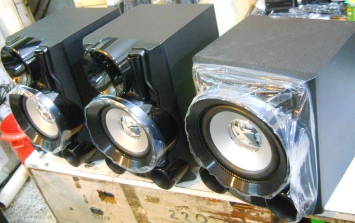 Parlantes 2.1 JPG + Subwoofer - 660W Rms! Gran calidad de sonido en todas las frecuencias.