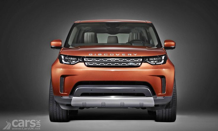 Photo 2017 Land Rover Discovery Front View