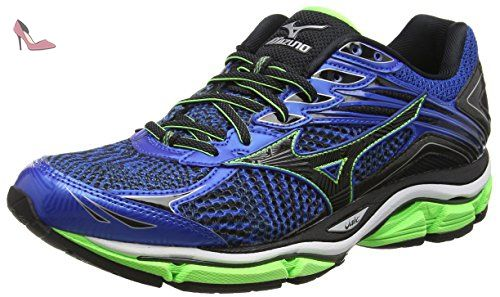 Wave Inspire 12, Chaussures de Running Compétition Homme, Bleu - Blue (French Blue/White/Twilight Blue), 40 EU (6.5 UK)Mizuno