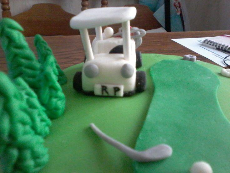 golf wagentje