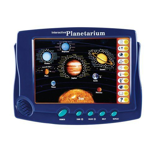 National Geographic Interactive Laptop Planetarium by National Geographic. $34.95. Introduce budding astronomers to our solar system with this laptop planetarium full of thousands of facts about the sun, the planets, and their moons. Learn about the sizes of planets, their distances from the moon, their temperatures, and more.