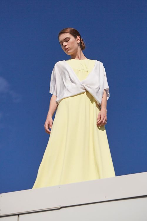 Купить Блуза ЗАПАХ шёлк из коллекции «…И ВХОДИТ ЖЕНЩИНА» от Lesel (Лесель) российский дизайнер одежды