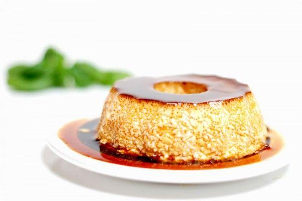 Flan de huevo casero, receta tradicional con Thermomix | Velocidad Cuchara