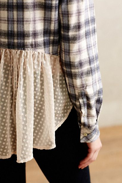 Willow Ridge Buttondown - just got this shirt and it is so comfy and feminine!!