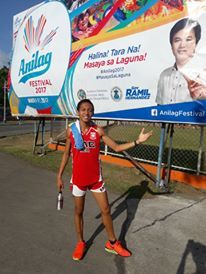 Edwin Giron Jr., also known as Monkey's Arm Bart, won the Palaro 1500m Title at the 2017 Palarong Pambansa. Giron timed a big PB of nearly 9 seconds to win in 4.06.3. He was very close to the Palaro Record of Kevin Capangpangan (NMRAA) 4.05.8 set in 2014.   #Antique (province) #Brigham Young University #Celsius #Community service #eastern visayas #Miami #NCAA Division III #Negros (Philippines) #Palarong Pambansa #Philippine National Police #Presidential Security Group #Rapp