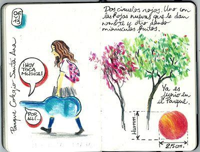 PARQUE - COLEGIO SANTA ANA: ESCRIBIR + DIBUJAR (6 de junio)