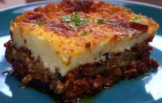 recette facile et pas chere moussaka traditionnelle