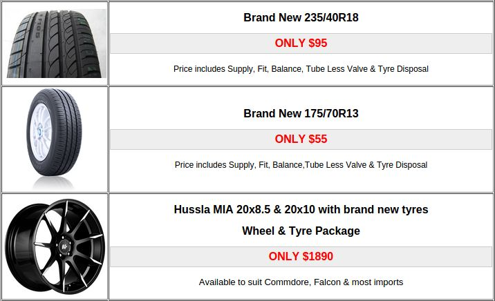If you want the new tyres at cheap price in Adelaide then you can visit our stores. We have a large range of new cheap Tyres and Wheels in Adelaide.