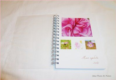 Agenda 2016 de Céline Photos Art Nature