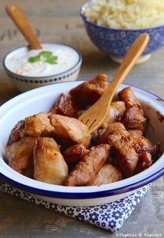 Poulet au miel et à la sauce soja - Sauce au yaourt