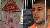 AAaron HERNANDEZ DREW  ILLUMINATI SIGNS IN CELL IN BLOOD.