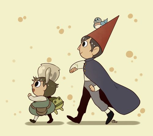 Average Jeff Over The Garden Wall
