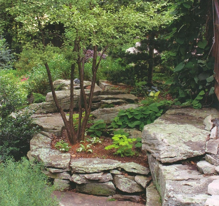 Raised Bed Retaining Wall: 17 Best Images About Walls & Slope (retaining Walls) On