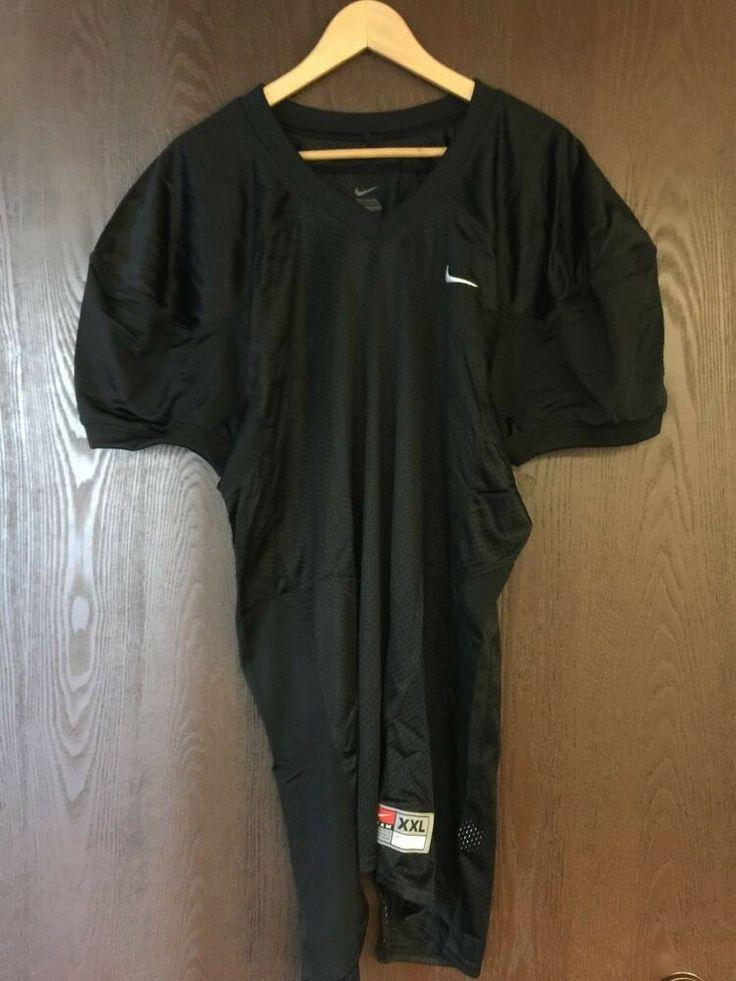 Nike black mesh football practice jersey size xl nike