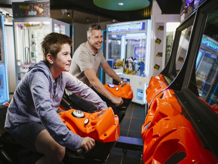 The action-packed Game Zone -- ideal for the young (and young-at-heart!)