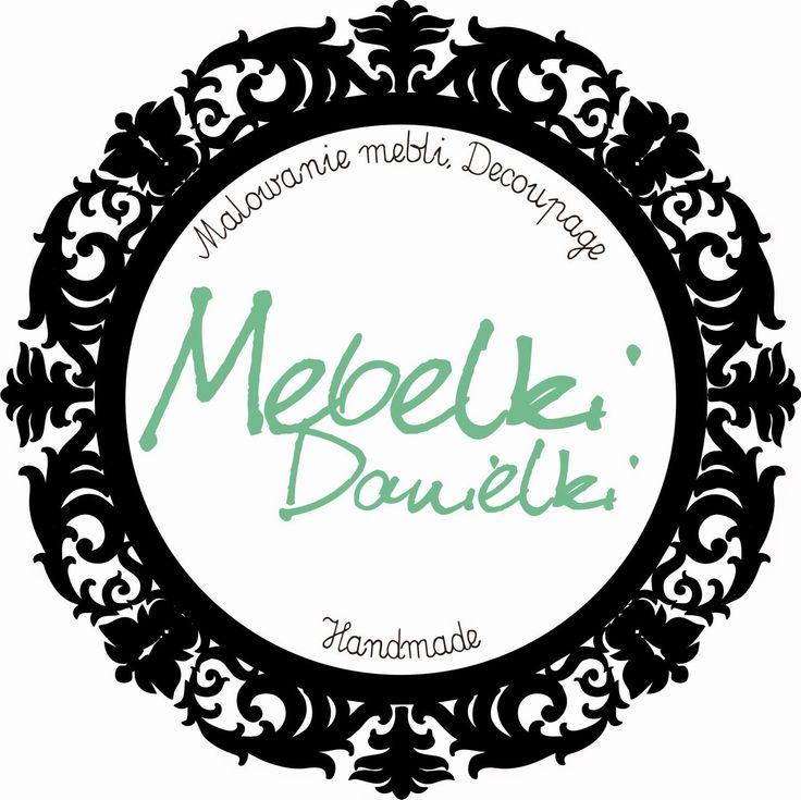 Mebelki Danielki - malowanie mebli, decoupage i inne twory: Półka kuchenno-pokojowa i CBL
