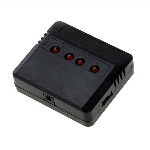 Calidad evertrusthigh X4 Mini batería de polímero de litio Cargador USB de 4 puertos para Hubsan H107/WLtoys/Syma X5C/UDI U816 UFO Quadcopter helicóptero - http://www.midronepro.com/producto/calidad-evertrusthigh-x4-mini-bateria-de-polimero-de-litio-cargador-usb-de-4-puertos-para-hubsan-h107wltoyssyma-x5cudi-u816-ufo-quadcopter-helicoptero/