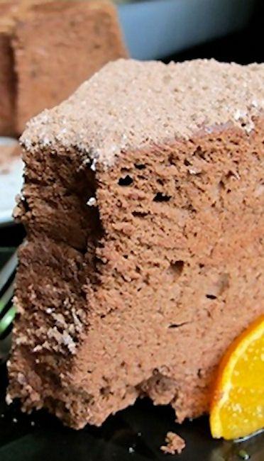Chocolate Angel Food Cake | Recipe