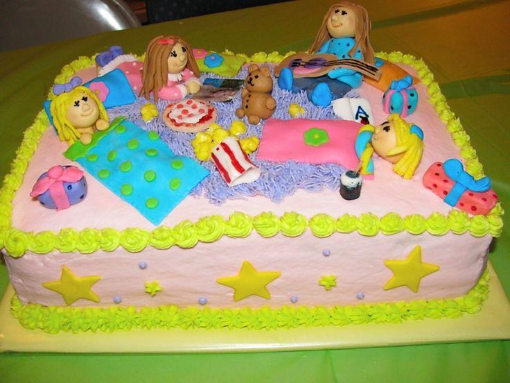 Pajama party cake Michelle s Cakes Pinterest