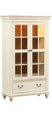 #HavertysRefresh Home Offices, Southport Bookcase   Distressed White, Home  Offices | Havertys Furniture