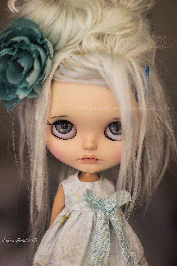 OOAK custom Blythe doll by Sharon Avital - 'Boo'