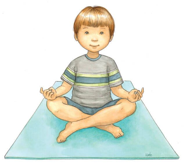 Йога для детей: упражнения в картинках