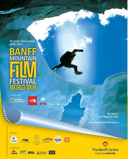 Banff Film Festival 2011 flyer, been enjoying the Banff Film Festival in our town for over 20 years, I'm unhappy when I miss it