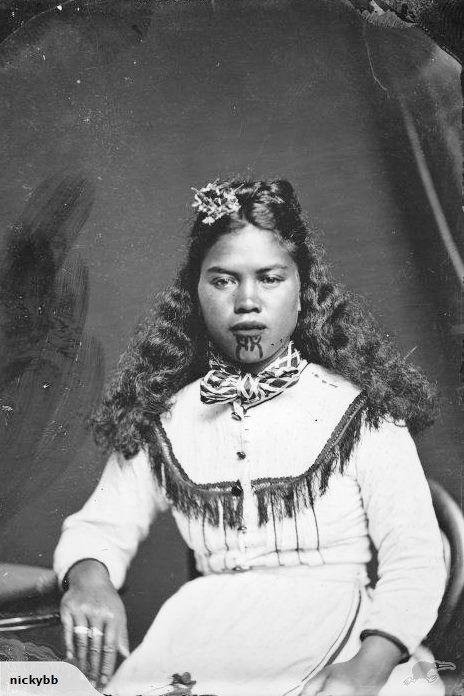 c1880 MAORI WOMAN OF HAWKES BAY | Trade Me