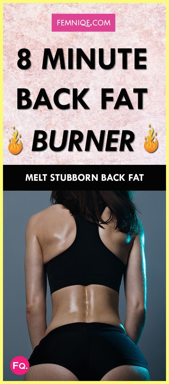 How To Get Rid of Back Fat (8 Minute Workout) - If you want to lose back fat, bra bulge or armpit fat this workout will help.