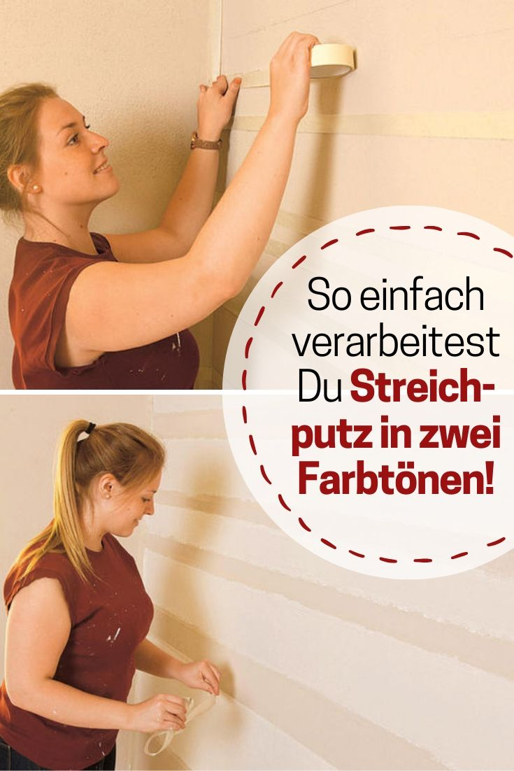Wand Tapete Alternative Streichputz In 2019 Decke Wand Renovieren Women