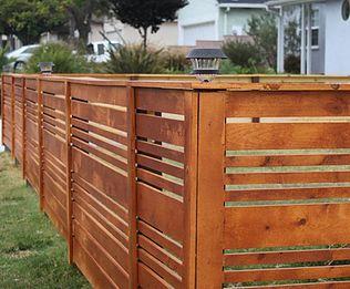 horizontal vinyl fence panels - Google Search