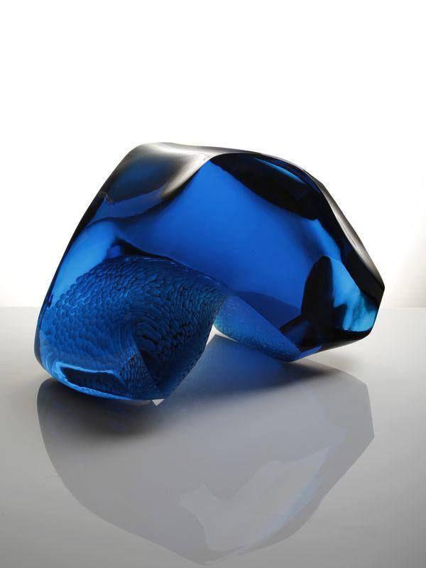 cut glass sculpture