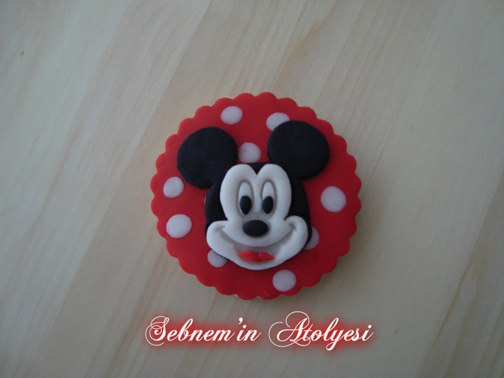 Mickey Mouse Kurabiye :)