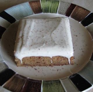 Banana Chocolate Chip Sheet Cake With Sweet Maple Icing Recipe ...