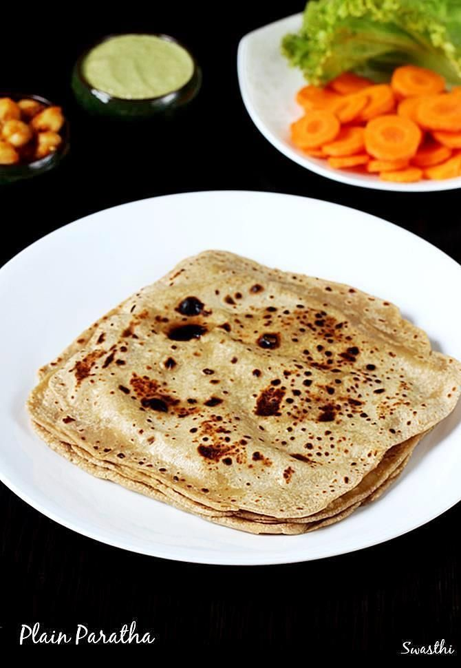 Paratha is an Indian flatbread that is a staple in many Indian homes served for breakfast or a meal. Learn how to make plain paratha with this recipe