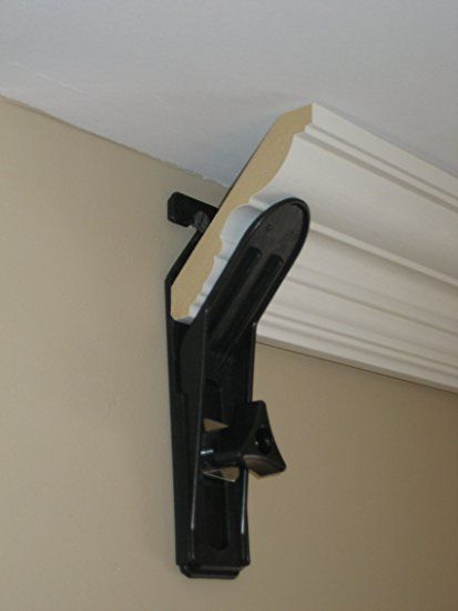 Crown Molding Hanger - why didn't I know about these!?