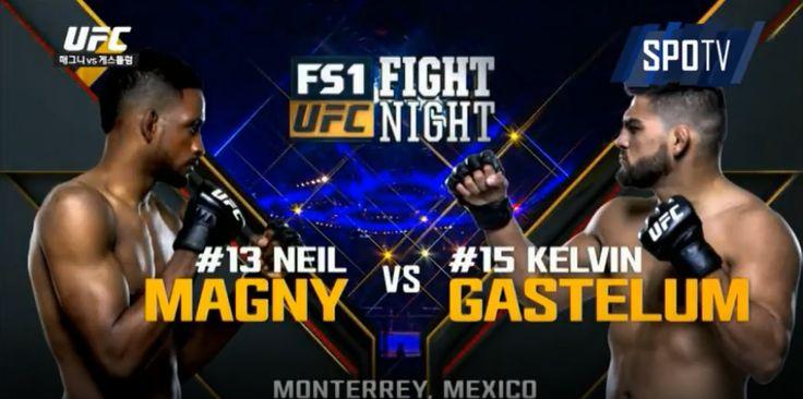 매그니 가스텔럼 UFC Fight Night 78 닐 매그니 판정승 과연??