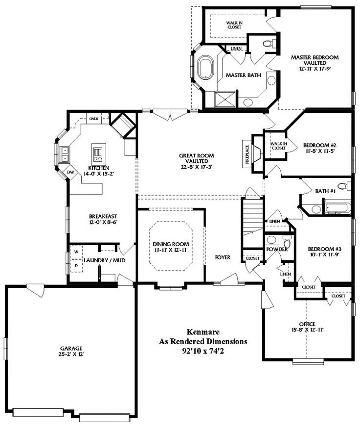 Kenmare Modular Home Floor Plan